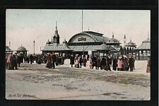 L@@K  North Pier Blackpool 1900's Postcard ~ NICE IMAGE ~ GOOD QUALITY CARD