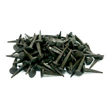 Hand forged iron 35mm x 85 pieces rose tête clou fer forgé forgeron nail