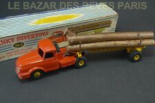 DINKY TOYS FRANCE. Tracteur WILLEME fardier.  REF: 36A + boite (lot2)