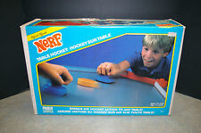VINTAGE 1987 PARKER BROTHERS 'NERF' TABLE HOCKEY SET WITH BOX