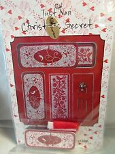Just Nan CHRISTMAS SECRET NEEDLE SLIDE Counted Cross Stitch KIT