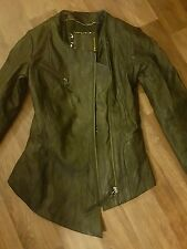 BNWOT KATE MOSS TOPSHOP LEATHER JACKET 1ST COLLECTION  SIZE 8