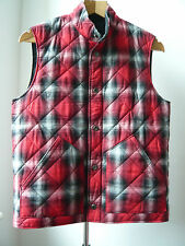 Very Cool SOPHNET reversible QUILTING VEST Sz S