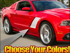 2010 and up 2013 2014 For Mustang Stage 3 Style Side Stripes GT Saleen