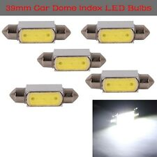5x High Power Festoon Canbus COB C5W 39mm 3W LED Bulbs For Number Plate Lights