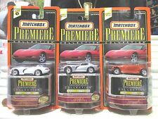 1998 Matchbox Premiere Contemporary Collection Dodge Viper RT10+GTS, Prowler NOC