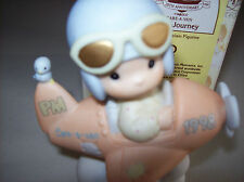 PRECIOUS MOMENT FIGURINE -  HAVE A HEAVENLY JOURNEY - 12416R - DATED 1998