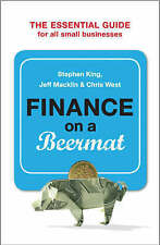 Finance on a Beermat, Macklin, Jeff, King, Stephen, Christopher West, New Book