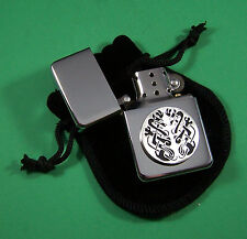 CELTIC DESIGN Petrol Lighter in Pouch Free UK Post  Scotland Ireland Wale
