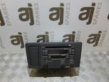 VOLVO S60 2.1 2003 CD/ RADIO WITH CUP HOLDER 8651152-1 (NO CODE)