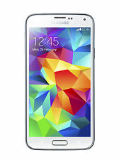 Genuine Samsung Galaxy s5 g800f 4g Mobile Mini 16gb Bianco Sbloccato Smartphone UK