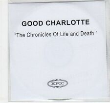 (EC311) Good Charlotte, The Chronicles of Life and Death - 2005 DJ CD