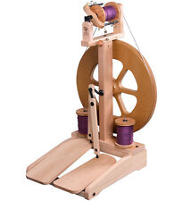 Ashford Unfinished Kiwi 2 Spinning Wheel + $30 Bonus Gifts