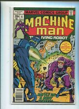 Machine Man #4 Fine  Battle On A Busy Street     CBX2B