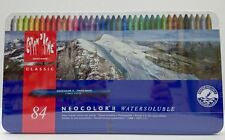 Caran d'Ache Neocolor II Watersoluble Set of 84 Colours
