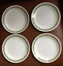 CORELLE SET OF 4 CRAZY DAISY SPRING BLOSSOM LUNCHEON SALAD PLATES