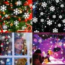 Christmas Snow Flake Removable Art Vinyl Window Door DIY Sticker Wall Decor14XMO