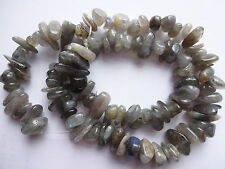 "Extra Large Flashy Labradorite Gemstone Freeform Nugget Beads16"" strand 11~14mm"