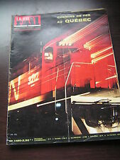 vie du rail 1975 1480 CHAMPTOCé MAUVES LOIRE QUéBEC MONTRéAL OUDON CAUDEBEC
