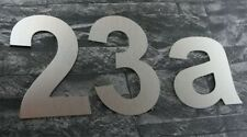 Acier Inoxydable Look Numéro Maison Numéro Nombre 15 cm de haut/optimal pour maisons préfabriquées hn1
