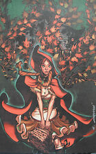 ERIC CANETE rare RED RIDING HOOD print SIGNED limited 2015 Disney GORGEOUS