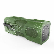 Waterproof Portable Wireless Bluetooth Speaker SUPER BASS NFC For phone Green
