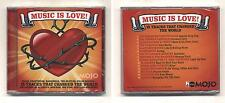 Cd MUSIC IS LOVE 15 Tracks That Changed The World NUOVO sigillato Mojo 2007