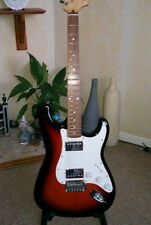 Fender Partscaster,Squire AFFINITY 70s neck, Mexican HH pickups 5 way switching