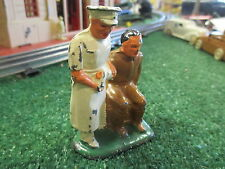 VINTAGE BARCLAY B-146 SOLDIER AND SURGEON 1930's GOOD CONDITION
