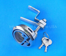 Boat Hatch Turning Lock Latch Lift Ring Handle Locking - Marine Stainless Steel
