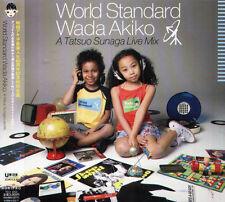 Akiko Wada World Standard A Tatsuo Sunaga Live Japan CD - NEW