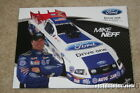 2009 Mike Neff Ford Drive One Mustang Funny Car NHRA postcard