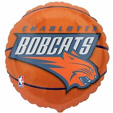 Charlotte Bobcats - Basketball Foil Balloon - Licensed - Tailgate - Birthday