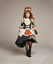 NEW Girls Chasing Fireflies Steampunk Girl Costume Size Medium 8-10