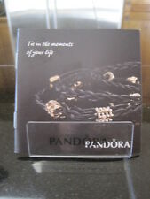 "AUTHENTIC 2010 PANDORA CHARM STORE BROCHURE RETIRED ""HOW TO TIE THE KNOT"""