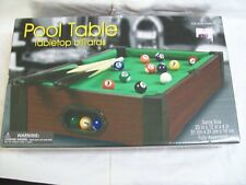 Westminster Tabletop Billiards Pool Table Premier Edition New Sealed in Box