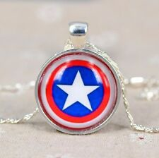 CAPTAIN AMERICA SHIELD SCUDO COLLANA NECKLACE CAPITAN THE AVENGERS CIONDOLO #3