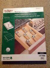 NIB Rev-A-Shelf Wood Spice Drawer Insert.  4W-SD-5.  141986.