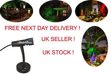 Green Static Fairy Laser Light For Indoor, Outdoor, Landscape, Garden, Christmas