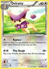 DELCATTY 114/160 - PRIMAL CLASH POKEMON REV HOLO RARE CARD NEW MINT