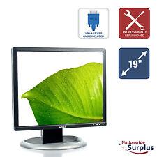"""Dell UltraSharp 19"""" 1905FP LCD Monitor 5:4 1280x1024 DVI VGA USB Grade B"""