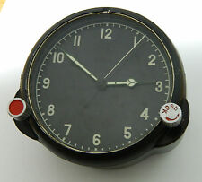 Soviet USSR Russian Military Aircraft AirForse Cockpit Clock #742S