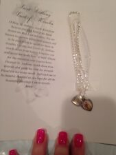 RELIGIOUS - ST. ANTHONY NECKLACE & PRAYER -+++NEW+++