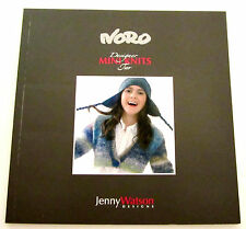 NORO MINI KNITS knitting yarn pattern book #2 by Jenny Watson with 32 designs