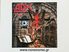 ADX - LA TERREUR +2 BONUS, LTD EDITION 100 COPIES NO REMORSE 2015 RED VINYL LP