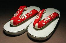 kissako Japanese Kimono Robe Clogs Zori GETA for Kids Girl Sandals New