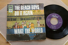 THE BEACH BOYS Do It Again 7 inch single Capitol K 23846