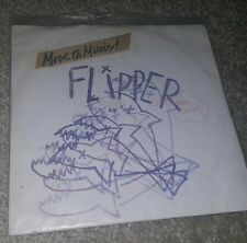 """FLIPPER EXTREMELY RARE PUNK 7"""" RED COLOR SEX BOMB 1981"""