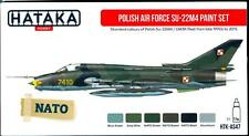 Hataka Hobby Paints POLISH AIR FORCE SUKHOI Su-22M4 Acrylic Paint Set