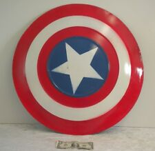 Captain America Metal Shield Costume Film Television Prop Super Hero 24.5""